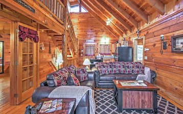 Mountain Cabin Living Room