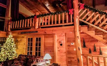 Rental cabin pigeon forge